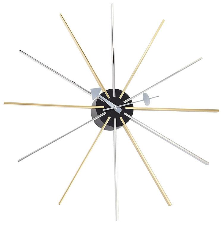 Modello di orologio da parete George Nelson di Vitra