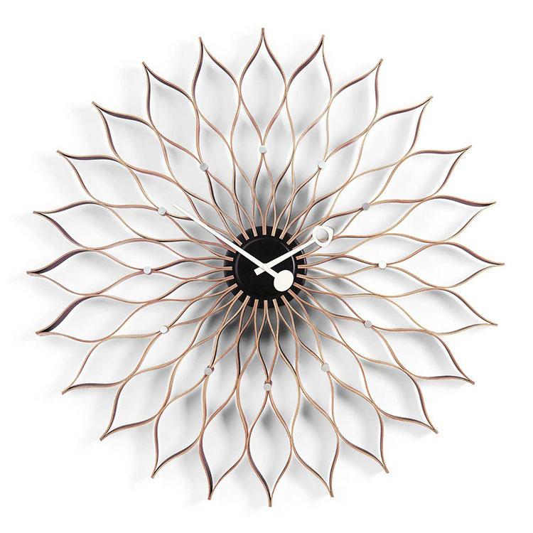 Modello di orologio da parete Girasole di Vitra