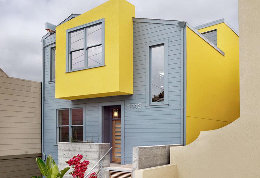 Nuovi Colori Per Esterno Casa : Pittura esterna casa colori con colore muri esterni di casa foto