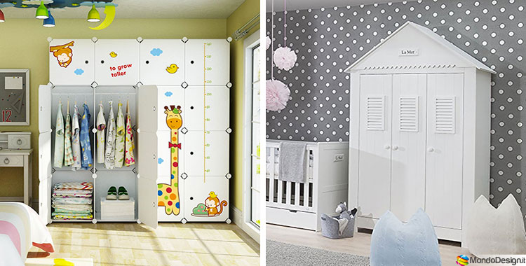 Kinderzimmer Aufbewahrung Regal Unique Bilder Armadi Per Camerette ...