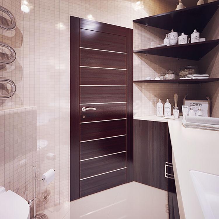 Progetto per bagno piccolo moderno n.16