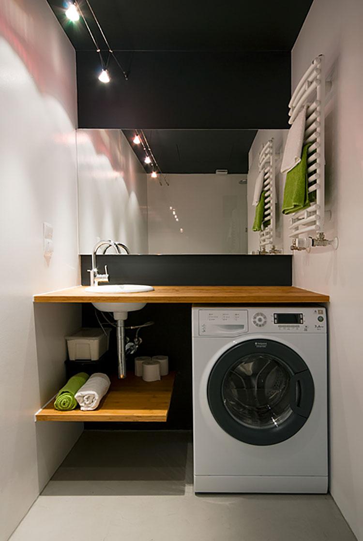 Progetto per bagno piccolo moderno n.43