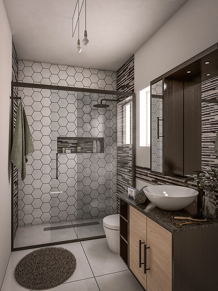 Bagno piccolo moderno ecco 25 progetti di design - Bagno piccolo design ...