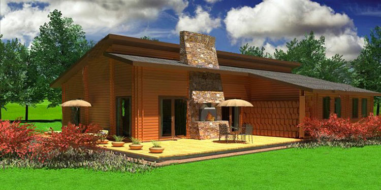 Casa in legno di Case e casette di legno