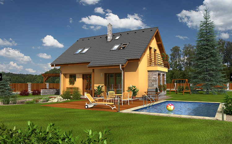 Casa in legno di Houses and Garden