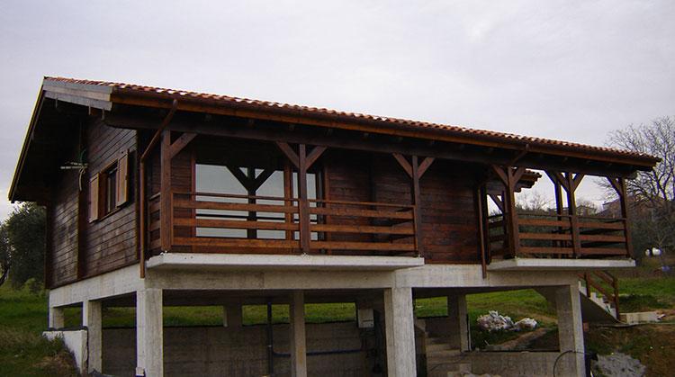 Casa in legno di Molise Legno