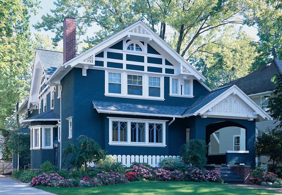 Nuovi Colori Per Esterno Casa : Colori per esterni della casa foto di facciate con tinte