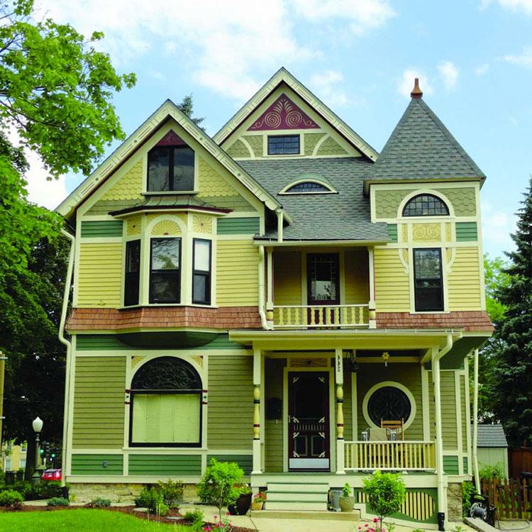 Colori per esterni della casa 60 foto di facciate con tinte diverse - Colore per casa ...