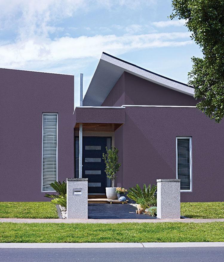 Colori case moderne esterno for Colori pareti moderne