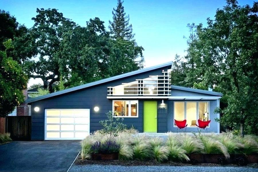 Idee per i colori dele pareti esterne di una casa al mare n.05