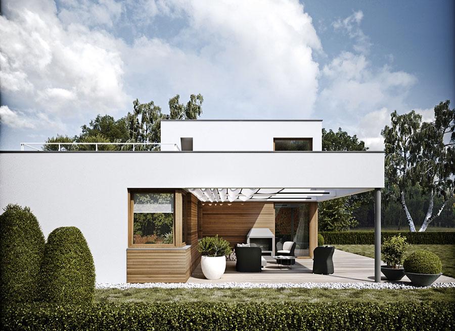 Idee per i colori dele pareti esterne di una casa moderna n.07