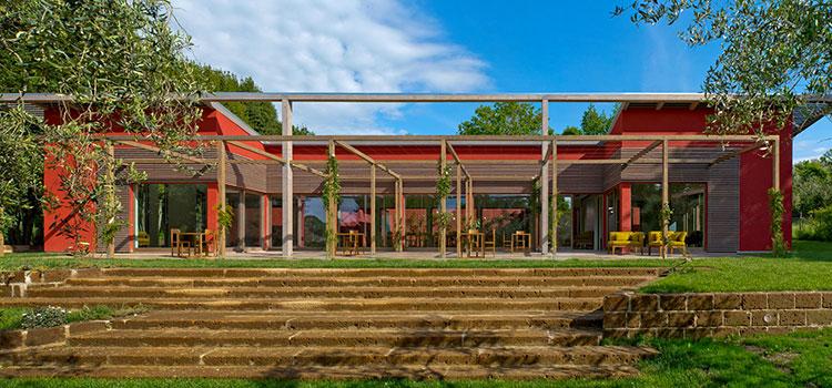 Casa in legno di Bautiz