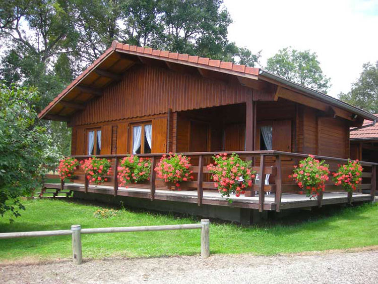 Casa in legno di Ciprari