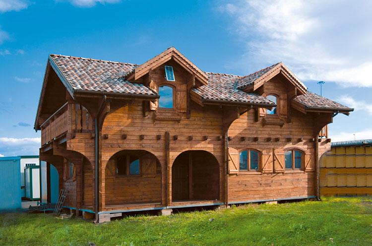 Casa in legno di Officine Romane