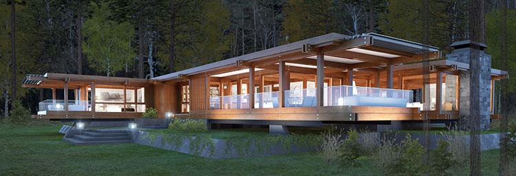 Casa in legno di Pagano