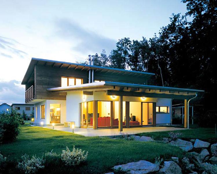 Casa in legno di Villeurop