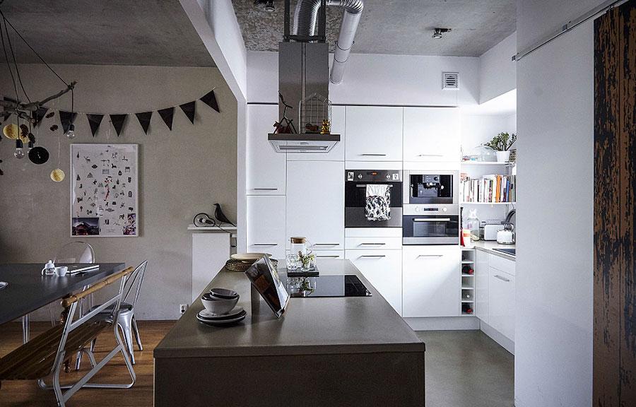 Modello di cucina con isola Ikea n.06