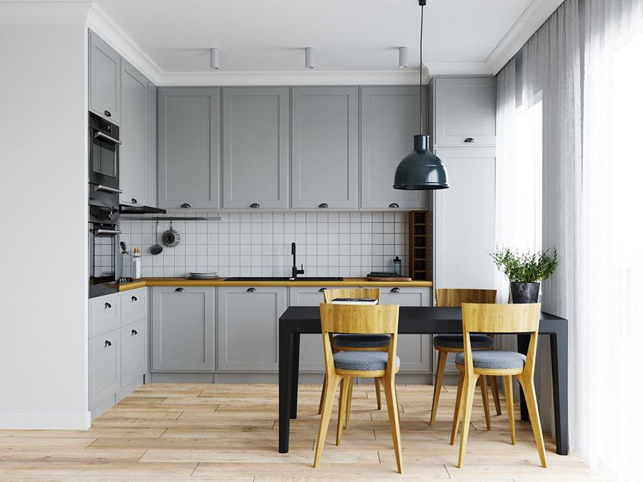 Cucine a L: Scoprite 50 Fantastici Modelli in Diversi Stili ...