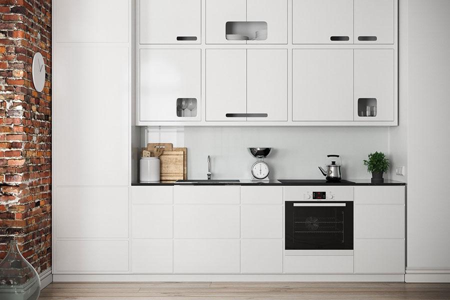 Modello di cucina lineare n.06