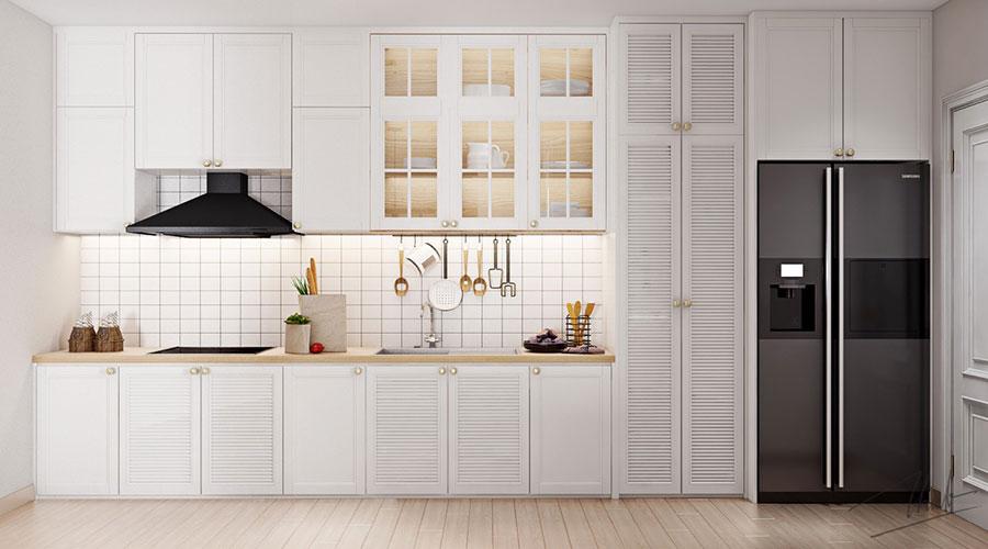 Modello di cucina lineare n.08