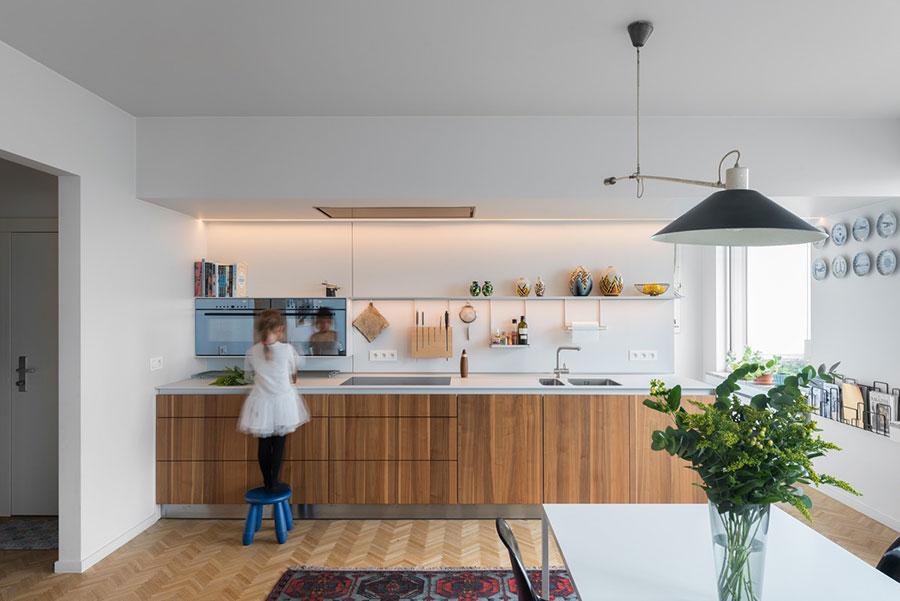 Modello di cucina lineare n.26