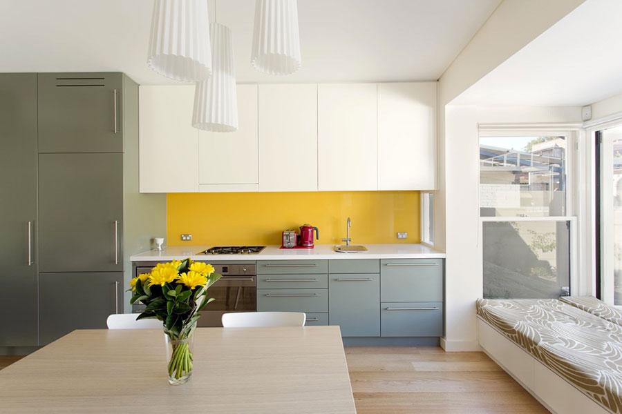 Modello di cucina lineare n.30