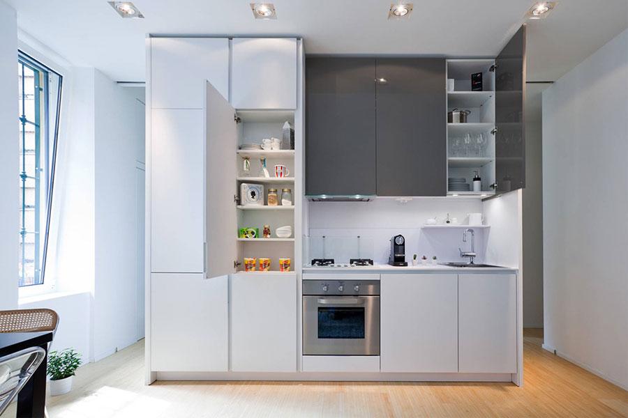 Modello di cucina lineare n.32