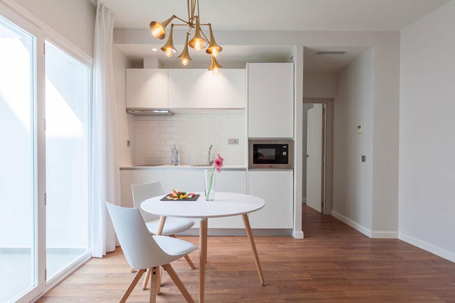 Modello di cucina lineare n.35