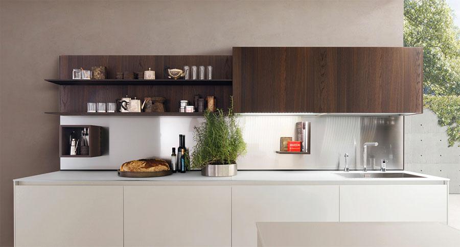 Modello di cucina lineare n.38