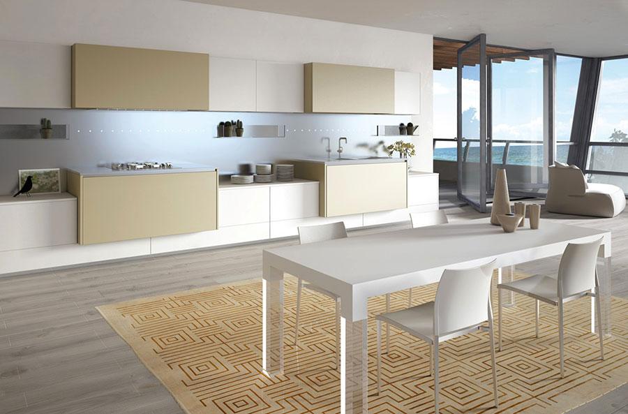 Modello di cucina lineare n.41