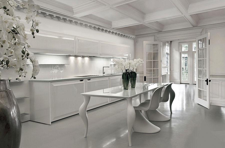 Modello di cucina lineare n.44