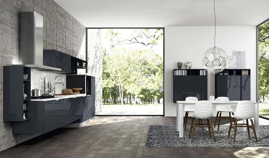 Modello di cucina lineare n.46