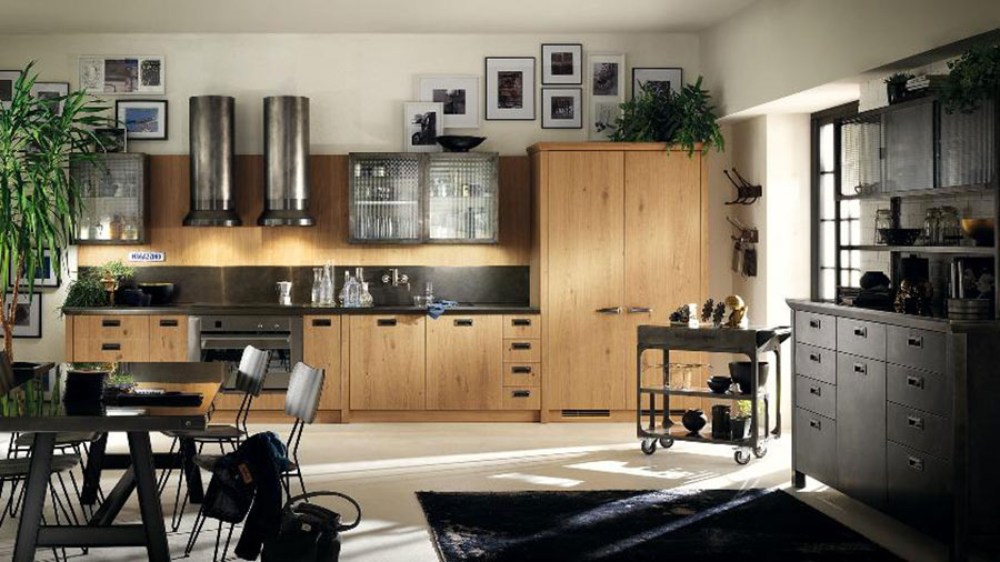 Modello di cucina lineare n.48