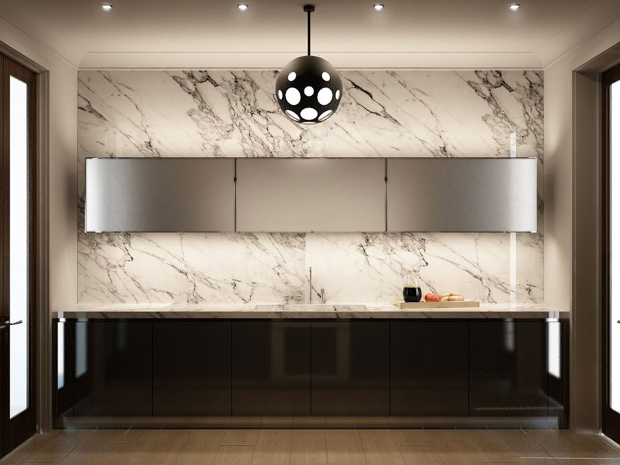 Modello di cucina lineare n.52