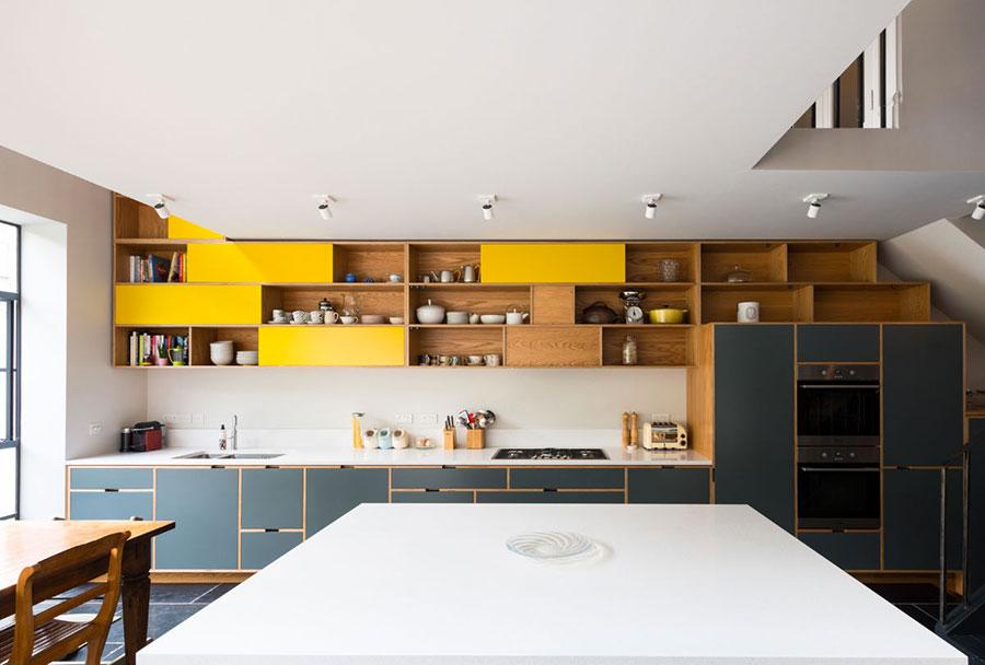 Modello di cucina lineare n.54