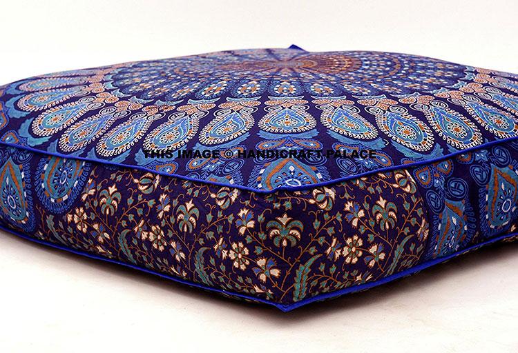 Modello di cuscino boho chic n.05