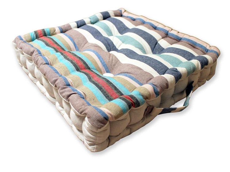 Modello di cuscino boho chic n.06