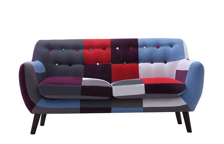 Modello di divano boho chic n.02