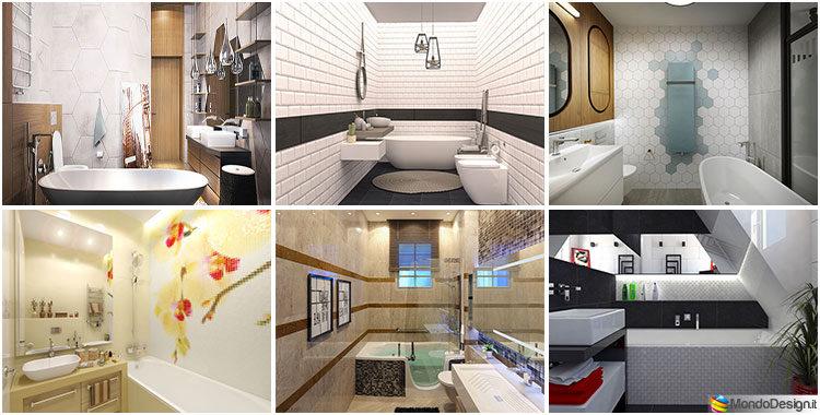 20 idee per arredare un bagno piccolo con vasca - Idee per arredare un bagno piccolo ...