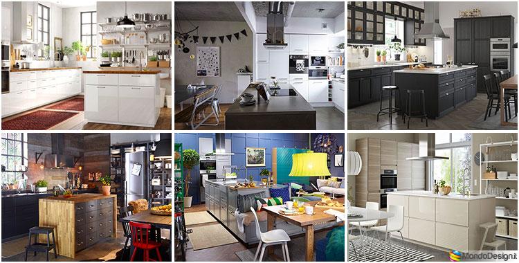 Cucina con isola ikea ecco 12 progetti a cui ispirarsi - Ikea progettazione cucine ...