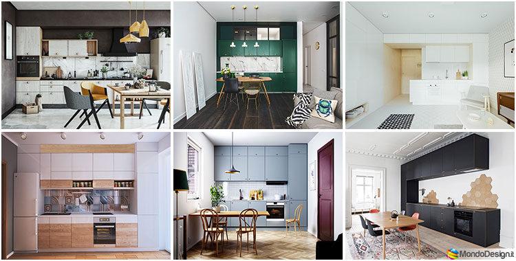 Cucine Lineari: 50+ Idee con Foto di Modelli dai Diversi ...