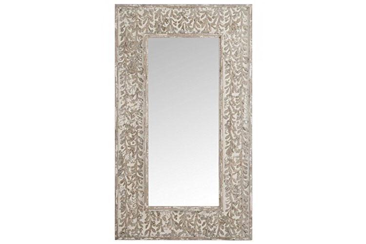 Modello di specchio boho chic n.02