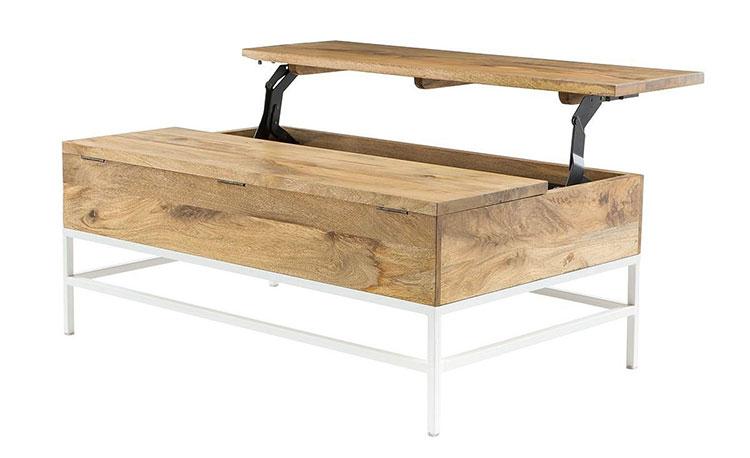 Modello di tavolino boho chic n.01