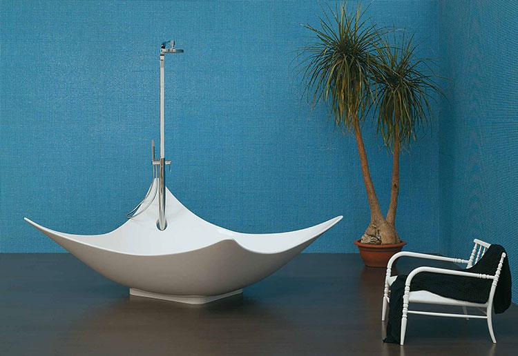 Modello di vasca da bagno quadrata da appoggio n.03