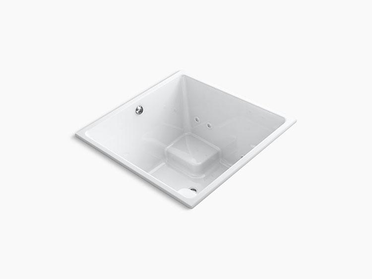 Modello di vasca da bagno quadrata da incasso n.10
