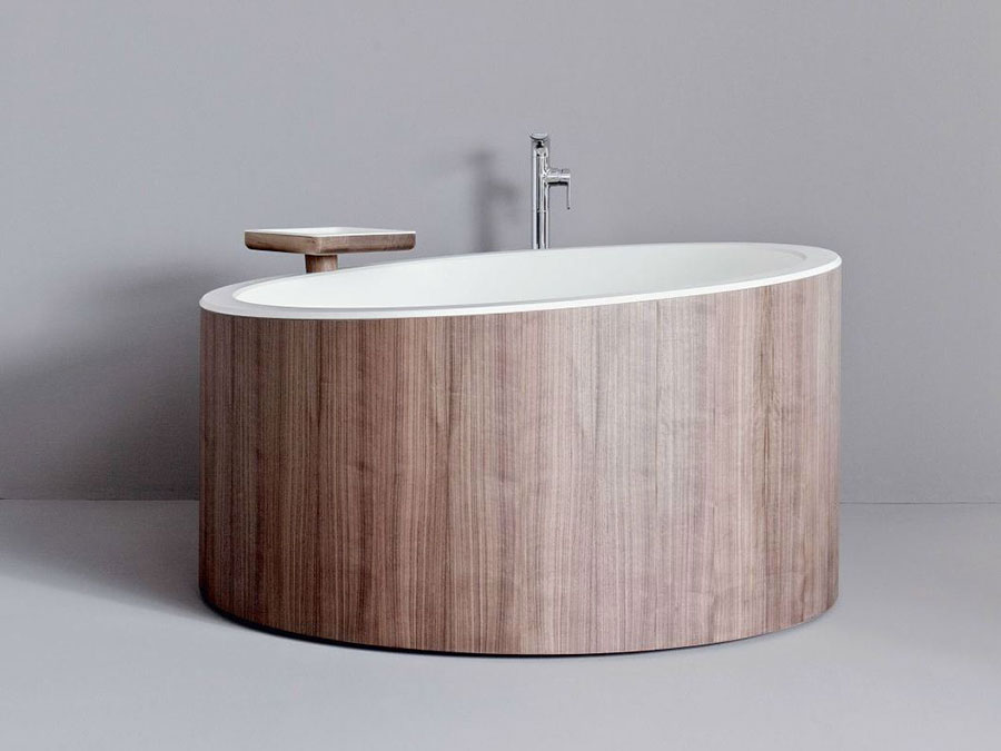 vasca da bagno rotonda ecco 20 modelli in diversi materiali