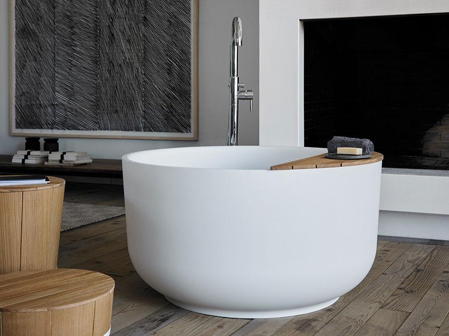 Vasca Da Bagno Materiali : Vasca da bagno rotonda: ecco 20 modelli in diversi materiali