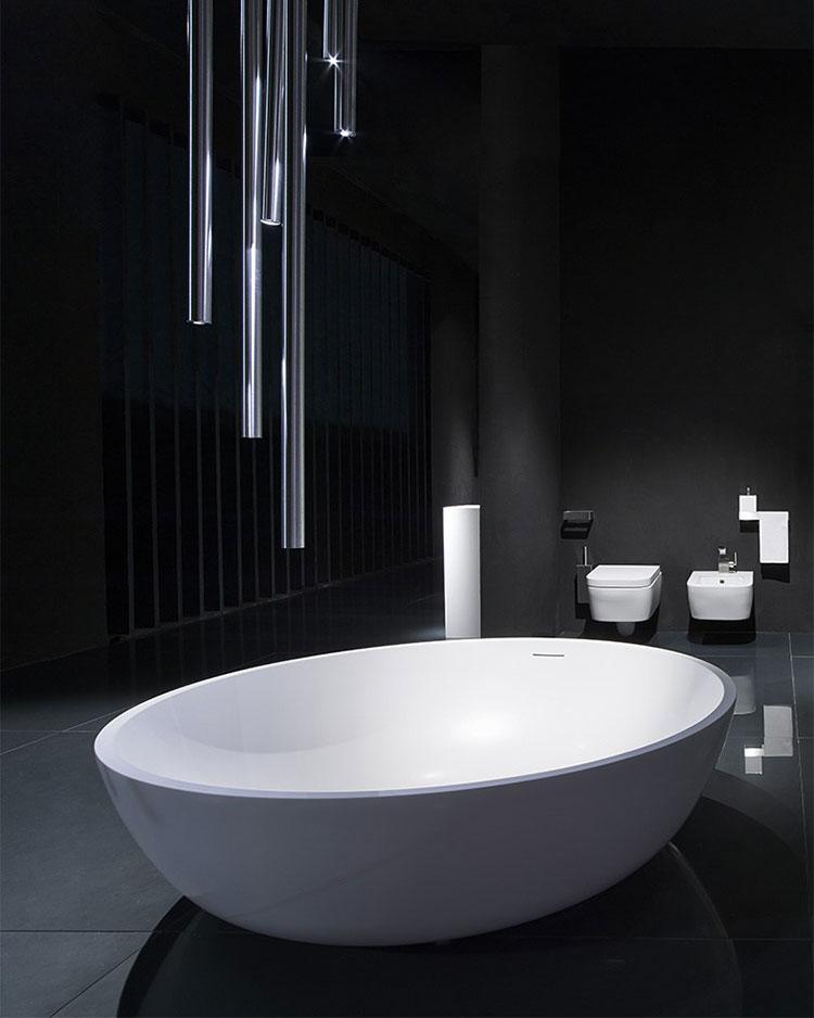Modello di vasca da bagno rotonda n.04