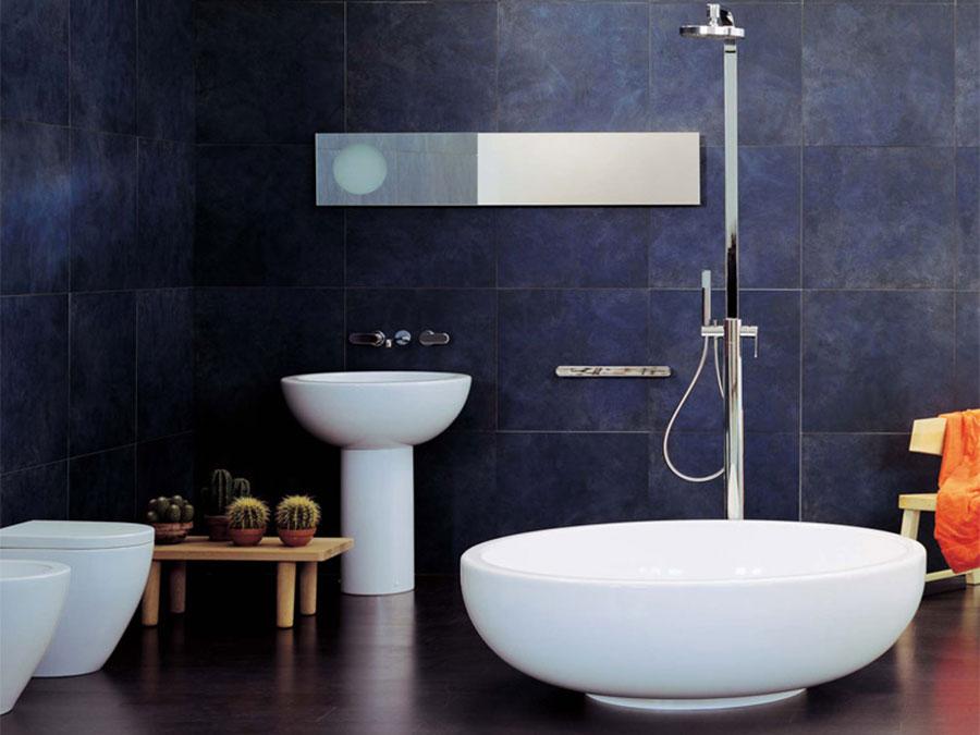 Modello di vasca da bagno rotonda n.05