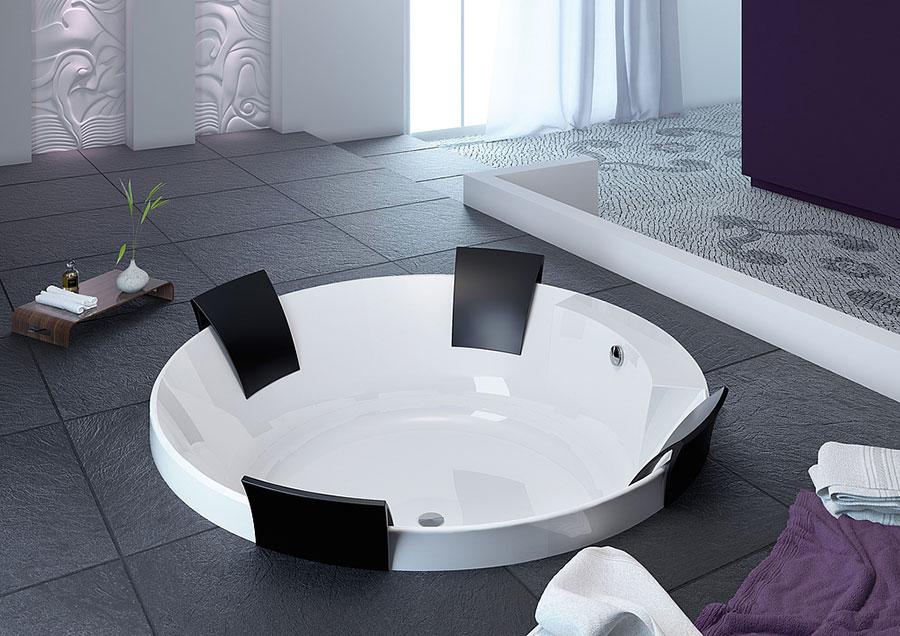 Modello di vasca da bagno rotonda n.06